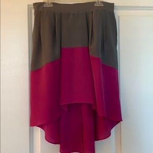 BCBGeneration high-low skirt